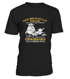 Best Limited   Strong Gardening Old Woman front Shirt