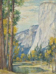 El Capitan Yosemite Park by Dorothy Dolph