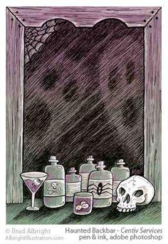 Haunted Backbar | Brad Albright