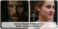 The Character Evolution Files, No. 5: The Journey Through the Character Arc, Stage 3 – The Point of No Return (End of Act I)