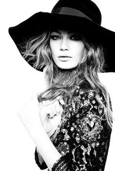 Hollie May Saker by Steven Meisel for Vogue Italia