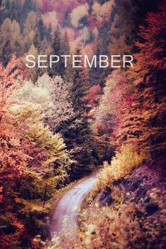 colors / september. It's a good month.