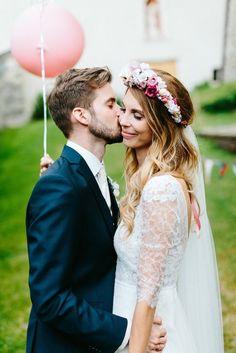 We Are Flowergirls- Flowercrown- Weddingcrown_ Headpiece-Accessoire-Handmade-Hairaccessoire- Headband Lace Wedding, Wedding Dresses, Headpiece, Handmade, Fashion, Accessories, Wedding Bride, Bride Gowns, Wedding Gowns