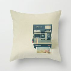 Instant Dreams Throw Pillow by Cassia Beck - $20.00