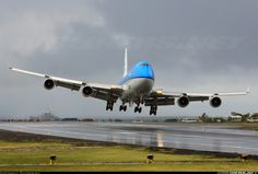 TheBestOfFlying • KLM - Royal Dutch Airlines. Boeing 747-406 -St....