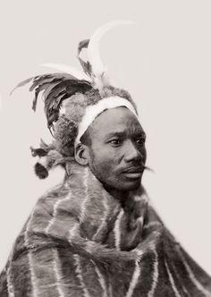 Africa | Mpondomise Chief Isaac Matiwana, Qumbu. South Africa. Early 1900s | ©Alfred Duggan-Cronin / McGregor Museum