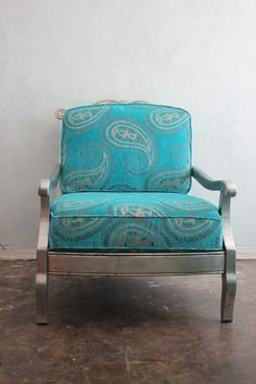 paisley velvet furniture - Google Search