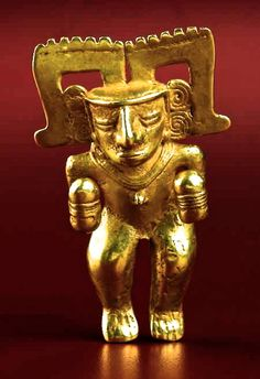 JOJO POST STAR GATES: IS THIS A FLYING MACHINE??? FLYNG POSITION?? SPECIAL EQUIPMENT TO FLY?? WHAT IS THE MESSAGE THAT THEY LEFT HERE ON EARTH FOR US??? WHAT DO YOU SEE??? Mayan Gold Figurine 250 AD
