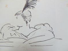Misa Sert dessin de Jean Cocteau