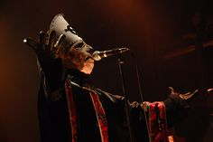 Papa Emeritus of Ghost by Metal Chris, via Flickr