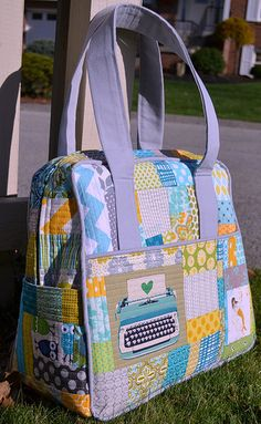 Scrappy Weekender bag | Flickr: Intercambio de fotos