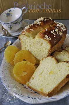 Panbrioche all'ananas by MentaeCioccolato, via Flickr