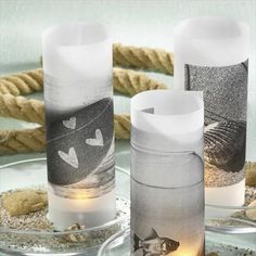 Candle holders are great when it comes to decorating, because they set the mood.With these creative decorating ideas for glass candle holders,you can custom Homemade Candles, Homemade Gifts, Diy Gifts, Heart Decorations, Table Decorations, Candle Centerpieces, Centerpiece Ideas, Red Candles, Glass Candle Holders