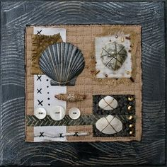nice collage with shells - more on this page