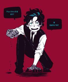 Boku no Hero Academia || Midoriya Izuku (Version Villain/Villano) <<< What does he say??