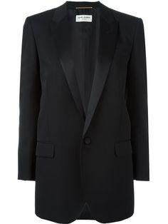 Compre Saint Laurent Blazer clássico de lã em Joseph UK from the world's best…
