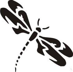 New Custom Screen Printed Tshirt Dragonfly Silhouette