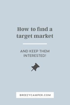 Find out how to define a target market for your creative business. You'll learn how to find your ideal customer and market to the right audience. Read more! Small Business Marketing, Marketing Plan, Media Marketing, Marketing Strategies, Marketing Tools, Digital Marketing, Creative Business, Business Tips, Online Business