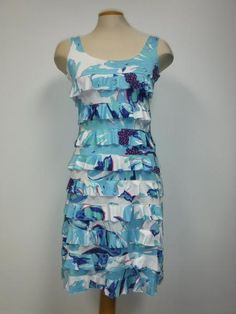 TANGO MANGO RUFFLE DRESS, SKY BLUE