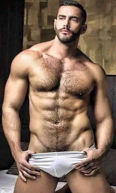 Solo hot hunk smouldering