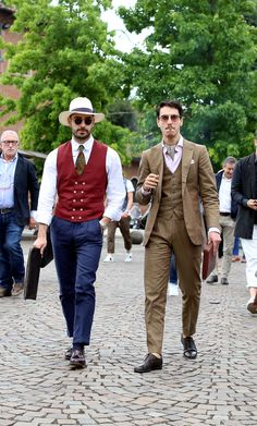 Italy brings out the best of men's street style during Pitti Uomo in Florence.