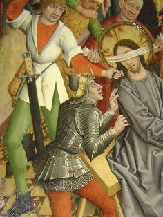 Medieval Drawings, Medieval Paintings, Medieval Costume, Medieval Armor, Landsknecht, Biblical Art, Knight Armor, Arm Armor, Catholic Art