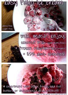 Paleo ice cream recipe (dairy-free and sugar-free)