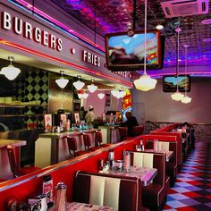 Check out Johnny Rockets at Broadway at the Beach in Myrtle Beach for great burgers and milkshakes!