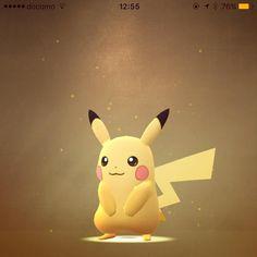 玉子から孵化したらピカチューだった やっとゲットだぜい #pokemongo #pikachu #lucky