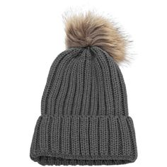 Fashionable Winter Venonat Design Pure Color Knitted Hat for Women ($7.06) ❤ liked on Polyvore featuring accessories and hats