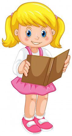 Kids Art Class, Kids Room Art, Art For Kids, Kids Cartoon Characters, Cartoon Kids, First Day Of School Pictures, Mother Daughter Art, Cartoon Butterfly, Girl Reading Book