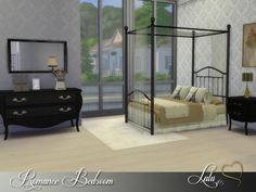 The Sims Resource: Romance Bedroom by Lulu265 • Sims 4 Downloads