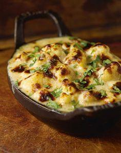 Cauliflower Goat Cheese Gratin