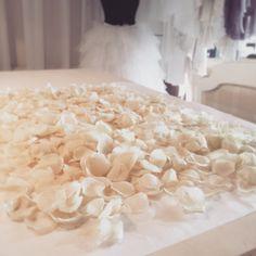 Work in progress - Hillenius Couture - atelier Flowers