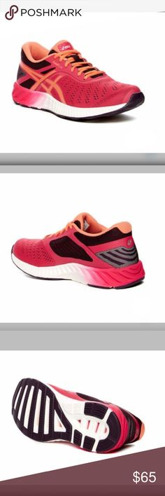 $85 Retail🏃🏻♀️ASICS- FuzeX Lyte Running Shoes Brand New in Box Asics FuzeX Lyte Running Shoes. Multicolor/Pink Sizing: Runs Small; Order 1/2 size up. $85 Retail . Make me an Offer!! Coming soon!! Asics Shoes Sneakers Running Shoe Brands, Best Running Shoes, Asics Shoes, Shoes Sneakers, Motion Control Running Shoes, Weekend Sale, Fashion Design, Fashion Tips, Fashion Trends