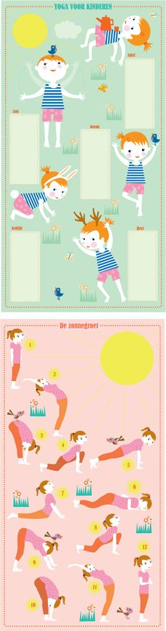 this is the cutest little thing 🌞🌞 Yoga For All, Yoga For Back Pain, Yoga For Kids, My Yoga, Exercise For Kids, Kundalini Yoga, Yoga Meditation, Yoga Sequences, Yoga Poses