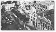 Convento do século 17 demolido para dar lugar a prédio da Faculdade de Direito no Largo São Francisco.