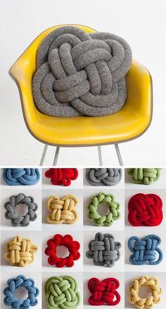 decoração chunky knit