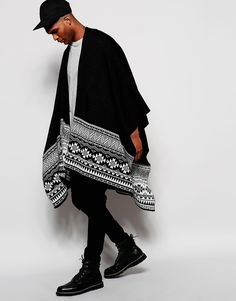 Aztec Cape In Black                                                                                                                                                                                 More