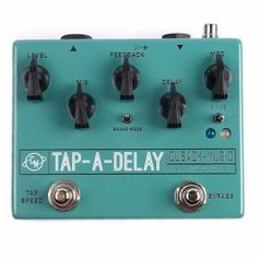 Win a Cusack Music Tap-A-Delay Pedal from Chicago Music Exchange!