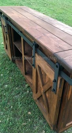 TV Console/TV Stand/Entertainment Center/Barn Door/Custom/media stand/media hutch/cabinent/sliding d