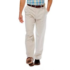Men's Haggar® Work to Weekend® Classic-Fit Flat-Front No-Iron Expandable Waist Pants, Size:
