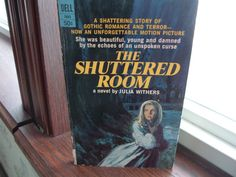 Vintage paperback book The Shuttered room by luckyrosiescreations, $5.00