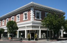 Historic building downtown San Anselmo - Marin County, CA
