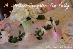 Shower of Roses: Our Annual Little Flowers Mother-Daughter Tea Party Catholic Kids, Crepe Paper Flowers, Little Flowers, Girls Club, Find Picture, Family Kids, Mommy And Me, Girl Scouts, Tea Party
