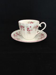 A personal favorite from my Etsy shop https://www.etsy.com/ca/listing/244473867/teacup-royal-tuscan-white-teacup-and