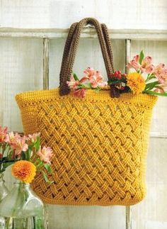 Twill Weave Tote by NTmaglia