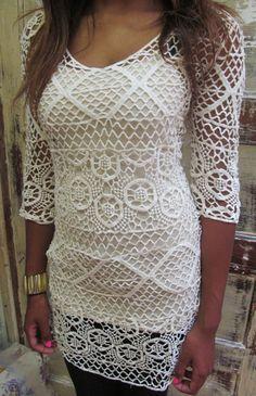 Crochet Tunic — Ally B