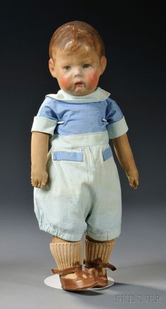 Early Kathe Kruse Boy Doll | Sale Number 2616M, Lot Number 99 | Skinner Auctioneers