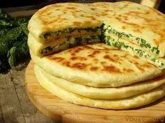 Вегетарианские рецепты: Хачапури с зеленью / Рецепты в духовке